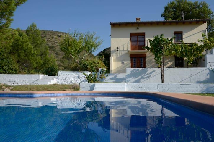 Holiday cottage on orange farm - Montesa - Casa