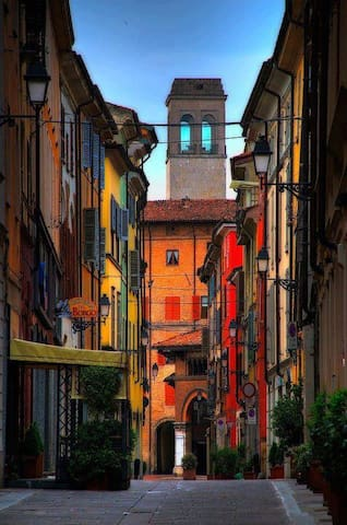 Nest in the heart of old Piacenza - Piacenza - Daire