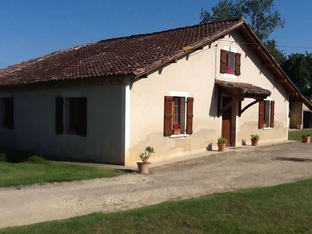maison gasconne - gavarret sur aulouste
