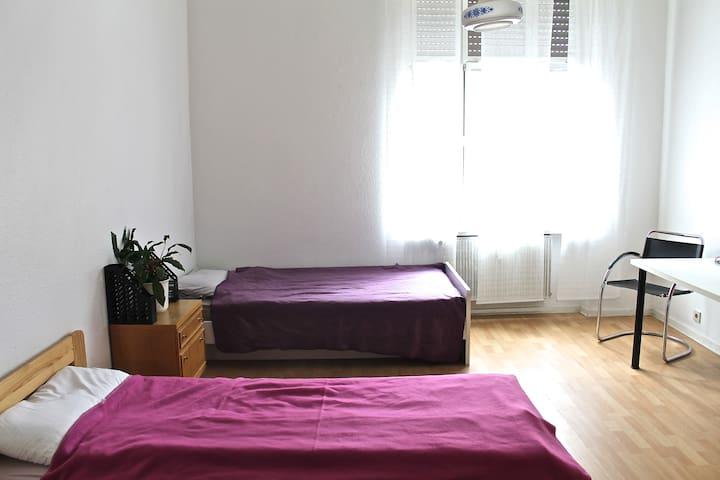 Helle Ferienwohnung direkt am Rhein - Oestrich-Winkel - Apartamento
