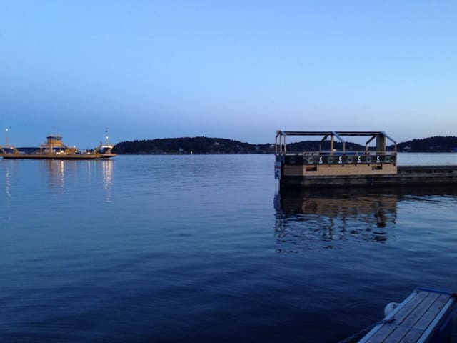 3 room flat with harbor view - Vaxholm - Daire