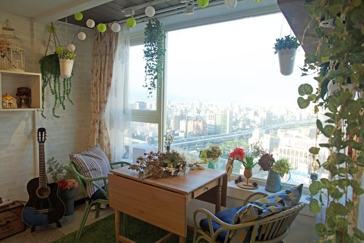 SkyGarden Taipei Station(5sec-MRT) - Zhongzheng District - Appartement