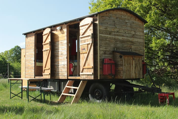 Mobile Home Luna - Amt Neuhaus - Hut