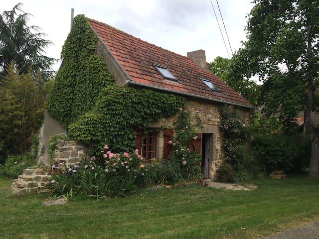 Petite maison  dans jardin coloré - Louroux-de-Beaune - 獨棟
