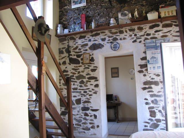 Maisonnette rustique coeur de bourg - Le Pin-en-Mauges - Bungalow