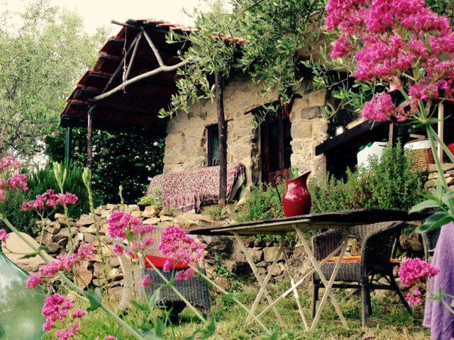 Eco rustico on tranquil olive grove - Ceriana - Hut