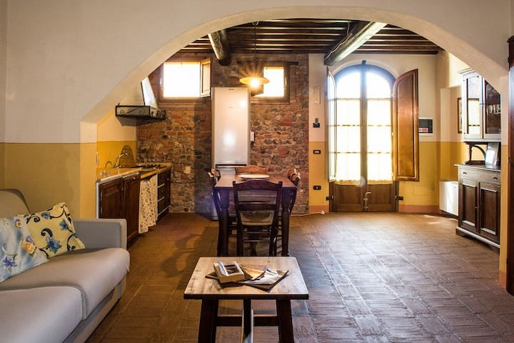 Casa d'Era - Appartamento Aida - Lajatico - Huoneisto