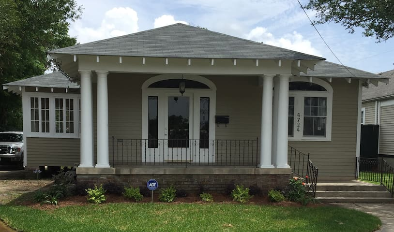 Beautiful 4br Cottage - New Orleans - Huis