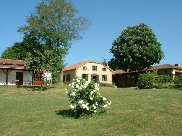 B&B in a Characterful Gersoise estate/ POOL & WIFI - Estang - Hus