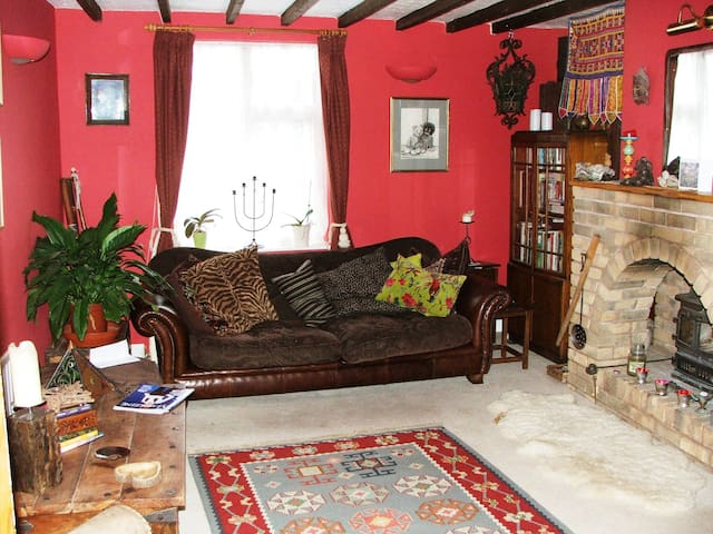 Homely cottage with pretty garden - North Petherton