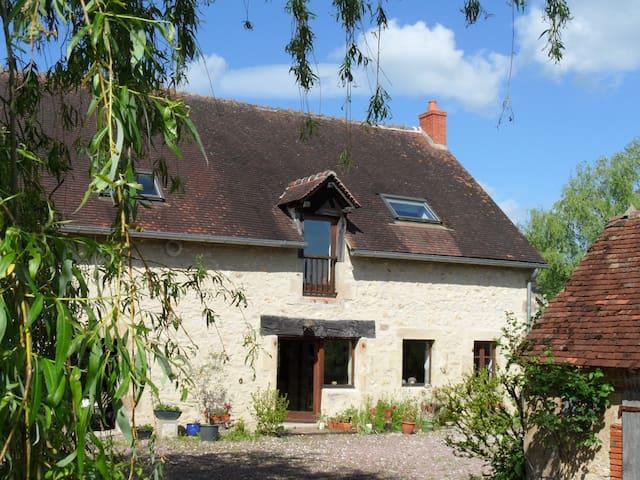 Lovely 100m2 self-catering cottage - Pouzy-Mésangy