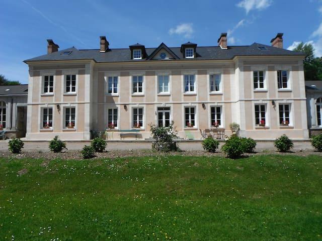 chambre confortable dans château - Villequier - 城堡