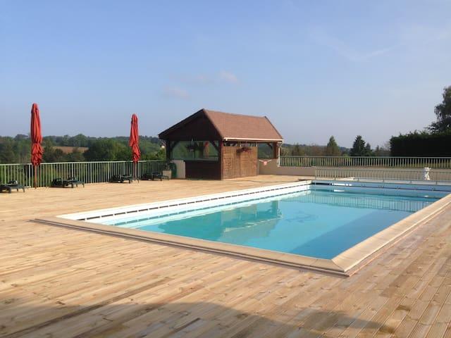Studio avec piscine proche Sarlat - Saint-Geniès - Appartement