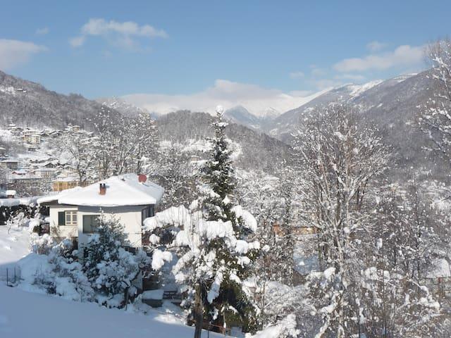 Le Lunelle, full alpine experience - Mezzenile - Maison