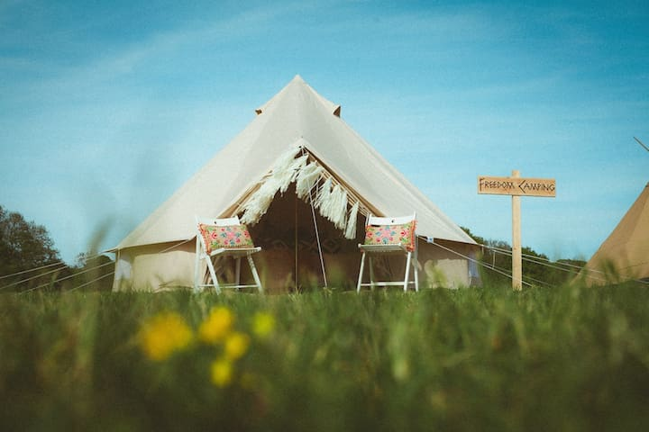 Luxury 5m Bell Tent - East Grinstead - Namiot