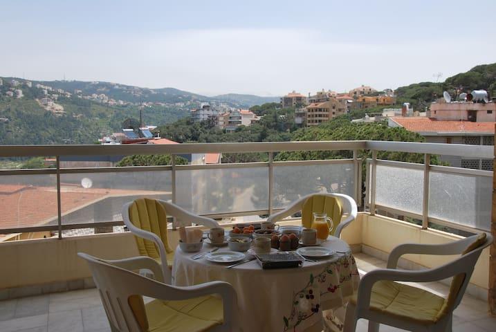 220m² avec terrasse, vue magnifique - Mar Chayia - Appartement
