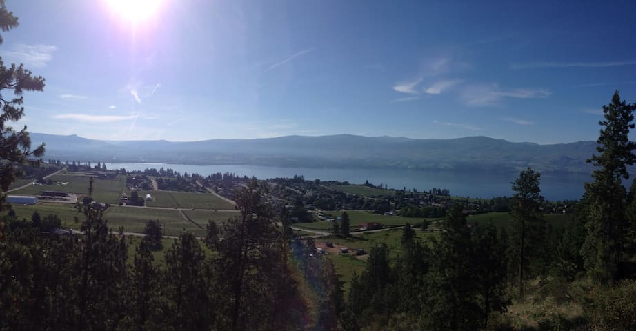 Private Oasis with a million $ view - West Kelowna - Apartmen