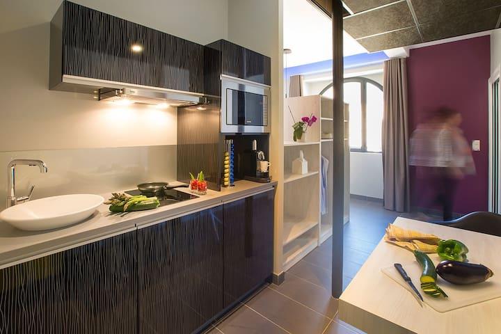 Beau studio cœur de la bastide - Villefranche-de-Rouergue - Appartement