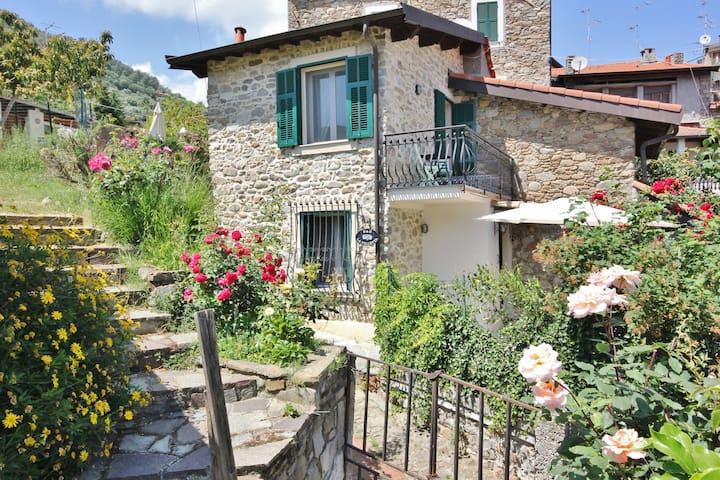 B&B la Villetta, stone house. - Dolceacqua - Rumah