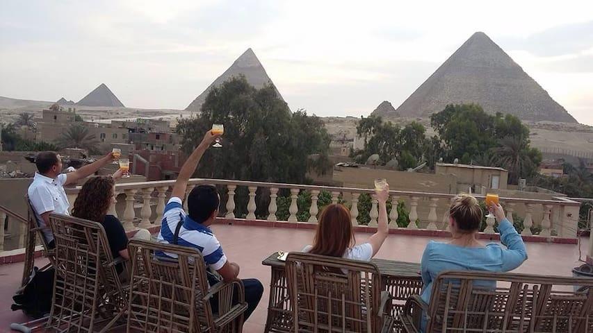 Pyramids View Apartment 40 $/Night - Haram - Apartamento