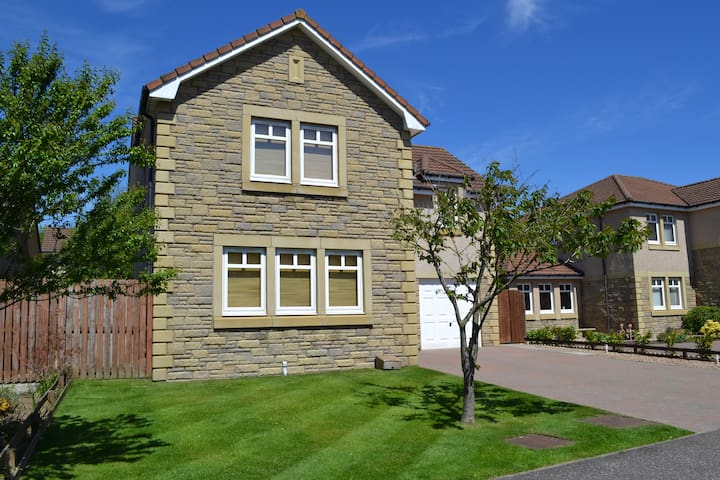 5 Bd House near St Andrews The Open - Glenrothes - Rumah