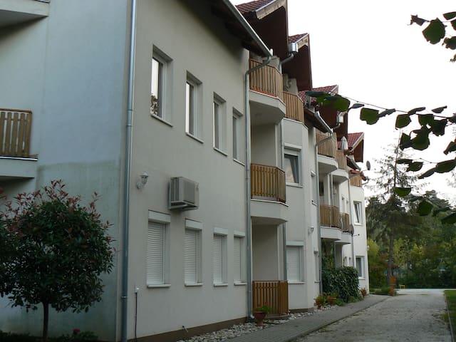Otthonos apartman a vízpart közelbe - Balatonszemes - Departamento