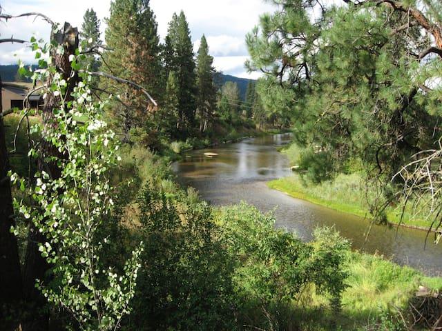 Amazing river front guest apartment - Garden Valley - Departamento