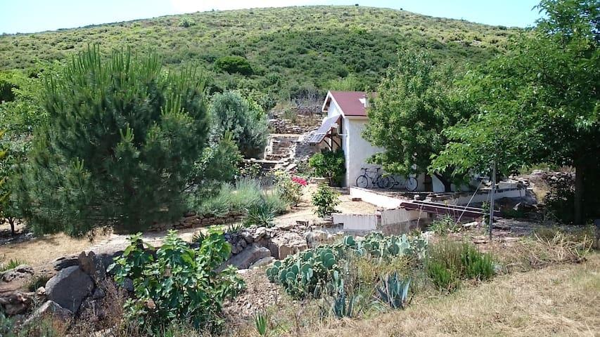 Off-the-Grid house in the hills - Saint-Nazaire-de-Ladarez - Rumah
