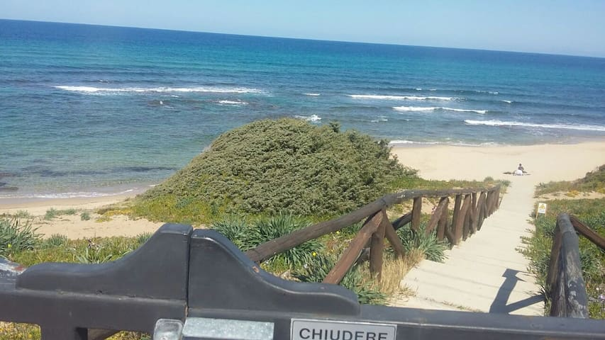 Castelsardo sulla spiaggia!!!! - Lu Bagnu - Apartemen