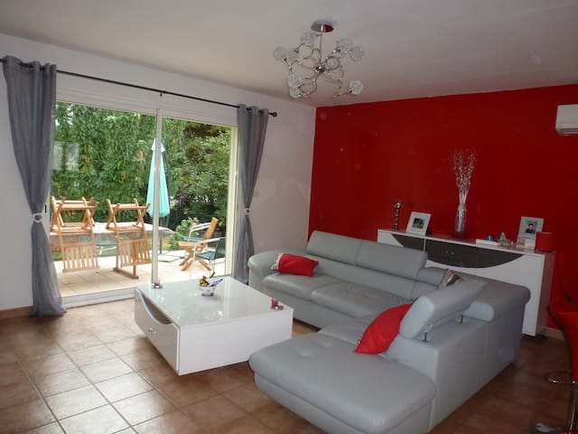 Recent house in a quiet near Alès - Saint-Privat-des-Vieux - Casa