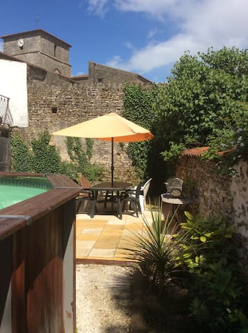 Village house private heated pool - Chantonnay - Hus