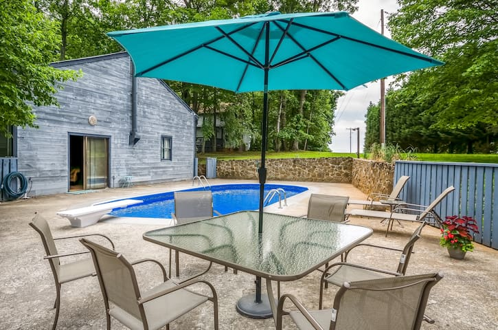 Pool Cottage at Blue Mountain House - Lynchburg - Departamento