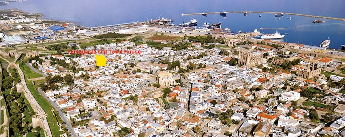 Cyprus Famagusta Old Town House - Gazimağusa - Rumah