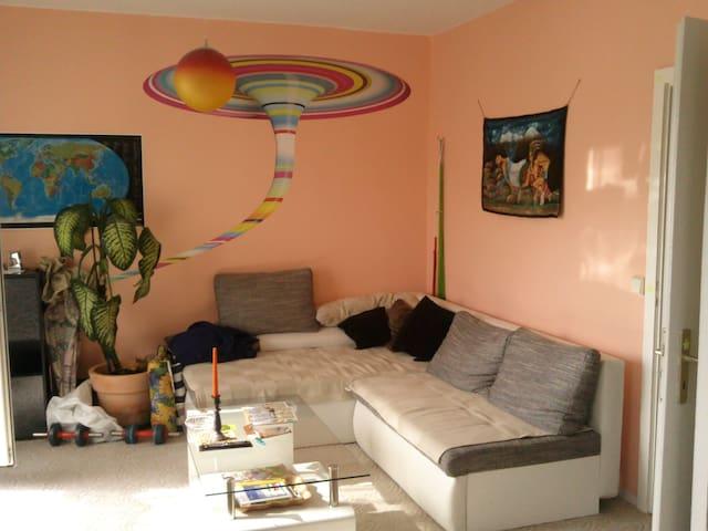 loftähnliche Wohnung, viel Natur - Suhl - Lägenhet