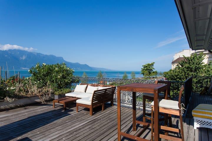 Apartment on Terrace - Vevey - Huoneisto