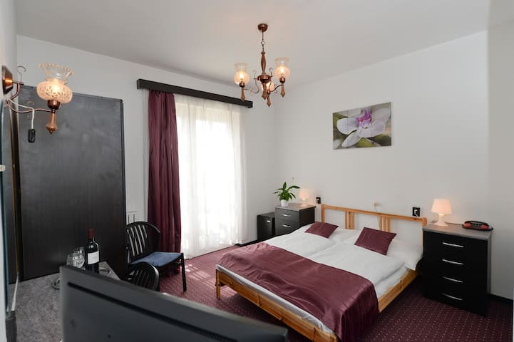 Double Room in Budai Hotel*** - Budapest - Bed & Breakfast