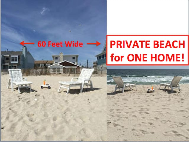 Oceanfront Home,Private Beach+Pool - Mantoloking - Huis
