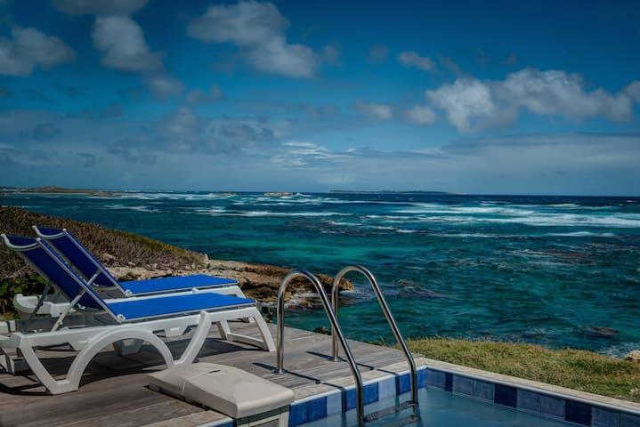 ★ Home away from home I Private pool I Sea views ★ - Rue de l'Escale, Saint-Martin - Apartamento
