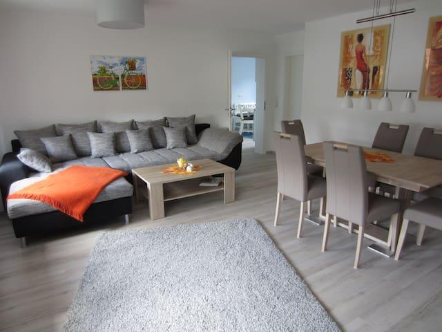 Fewo Bienwald 2, 105 m²/4-6 Per - Teuchern OT GRÖBITZ - Lägenhet