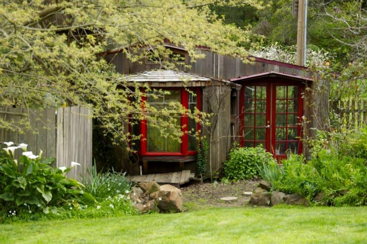 Guest Cottage with shared bath - Watsonville - Apartemen