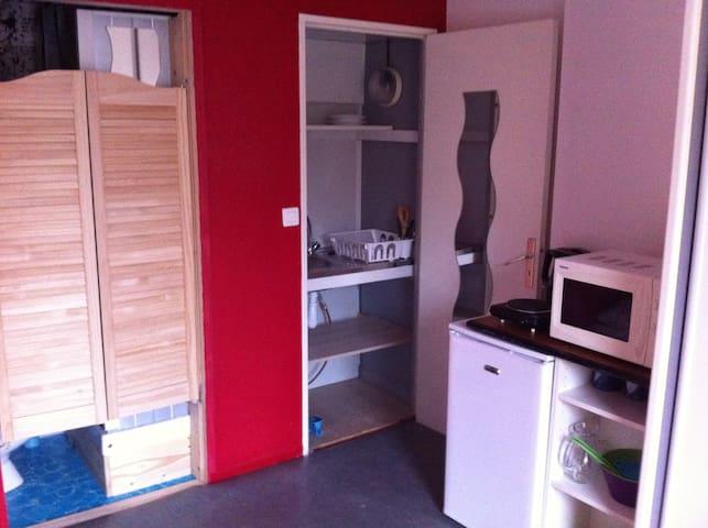 Chambre avec entrée privative - Rennes - Hus