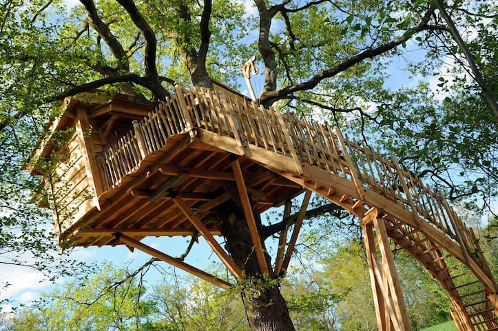 La Cabane du Vieux Chêne  Navarrenx - Susmiou