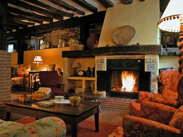 Habitacion doble en Casa Rural - San Pelayo - Merindad de Montija- Las Merindades