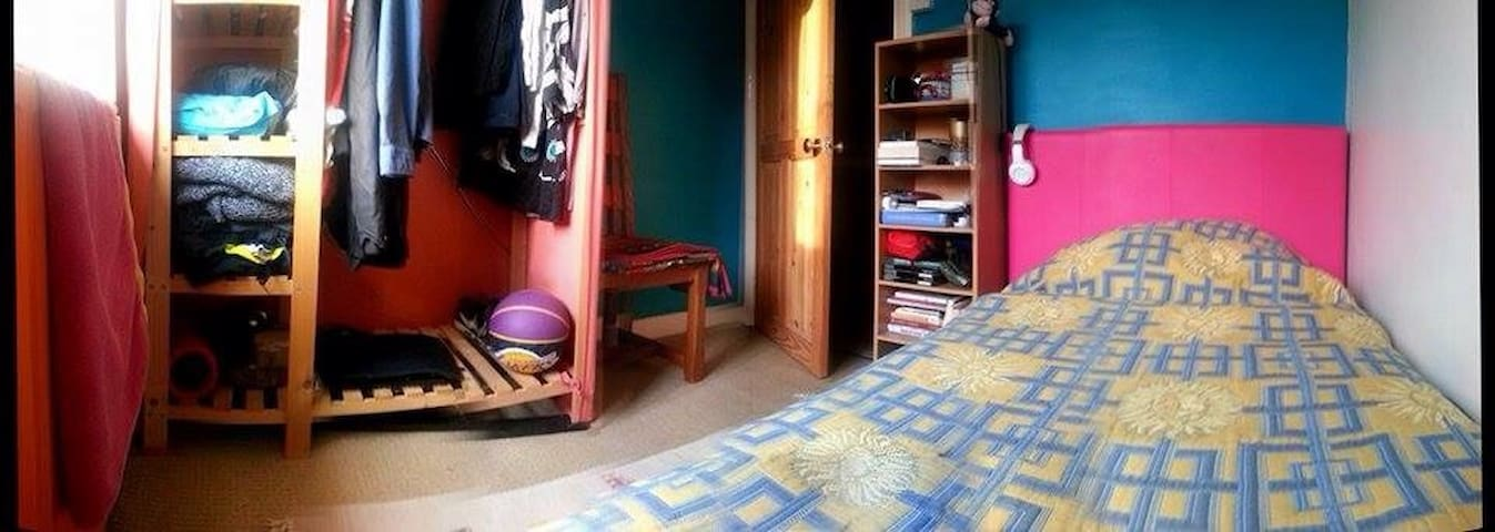Colourful single bed private room - Chesham - Hus