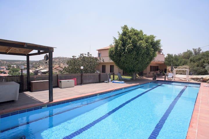 NEW in Airbnb! Amazing Villa & Pool - Ets Efraim - Villa