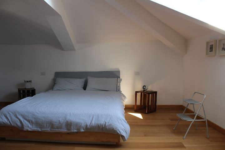 double room, bathroom - Grazzano Badoglio - 獨棟