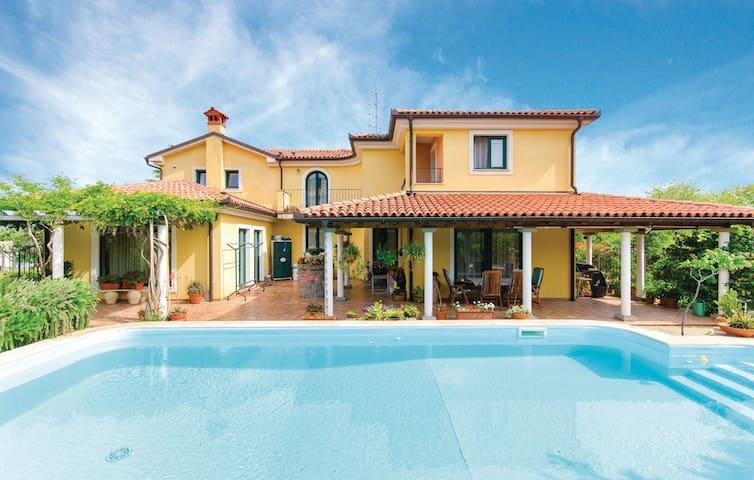 AP LAVANDA, green, relax, pool, sea - Kampel - 別墅