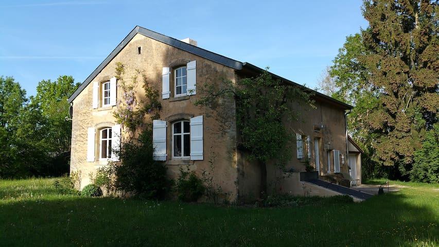 La Maison Rose - Basse-Rentgen - Talo