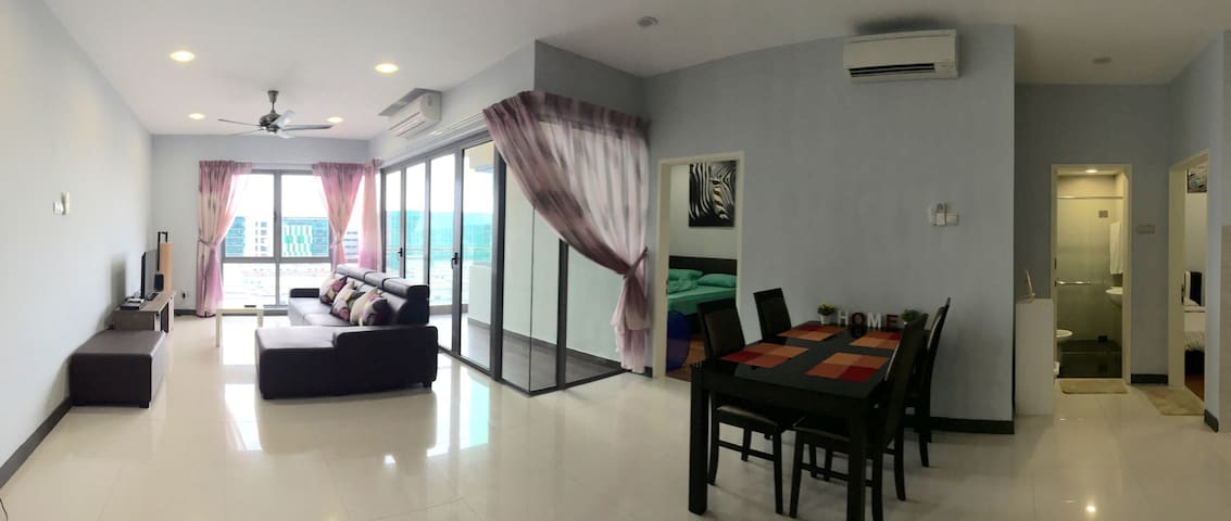2BedRooms Condo(A)@ City Centre - Kota Kinabalu - Apartemen