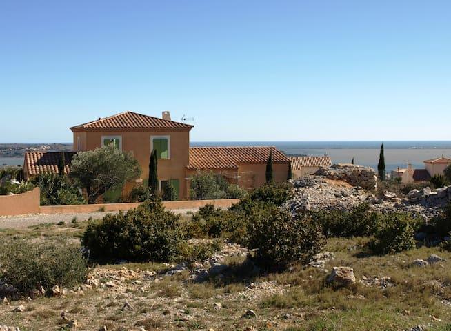 Belle maison avec piscine privée - Fitou - Hus